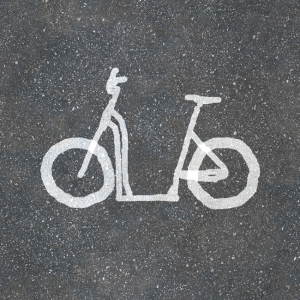 Moox Bike: Bike Lane Shot